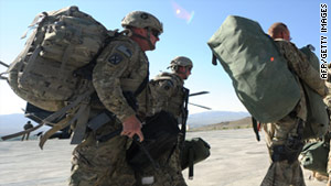 The full drawdown from Afghanistan is expected to take place by the end of 2014.