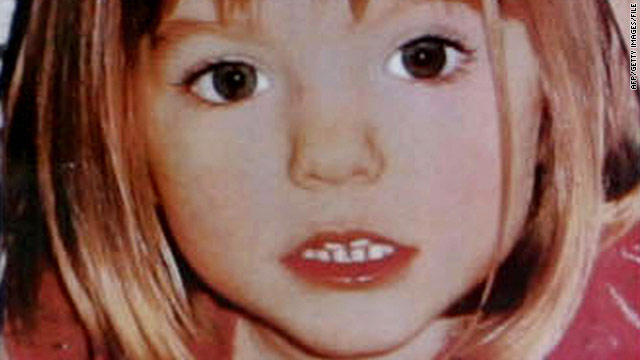 Madeleine McCann was 4 years old when she disappeared in Portugal