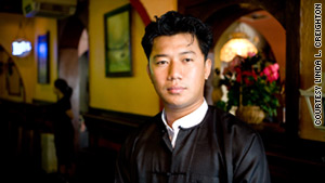 Hein Min Aung, now 26, was barely a teenager when he says he was recruited into the Myanmar army.