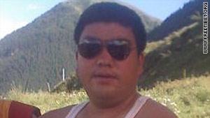 "Tsewang Norbu chanted ""Tibetan people want freedom"" as he lit himself on fire Monday."
