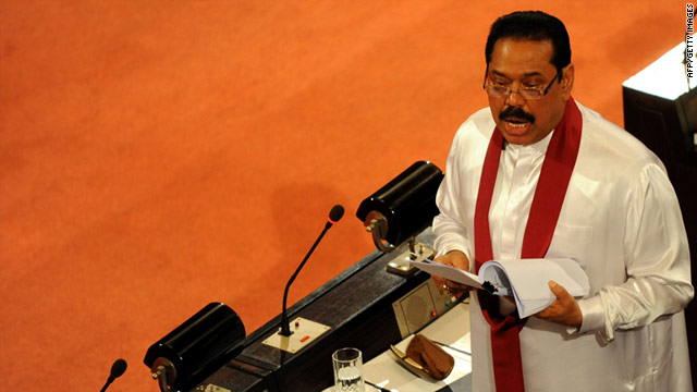 Sri Lanka President Mahinda Rajapaksa has told Parliament a six year long state of emergency will be withdrawn.