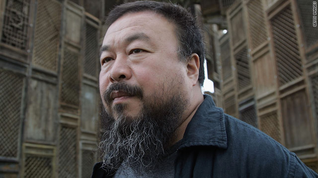"Dissident artist Ai Weiwei, pictured in Germany in 2007, depicts the Chinese capital as a ""dark place."""