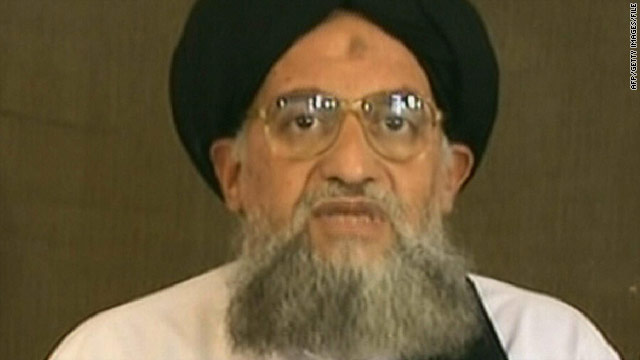 An image grab of Ayman al-Zawahiri taken from a video broadcast on Al Jazeera television in 2006.