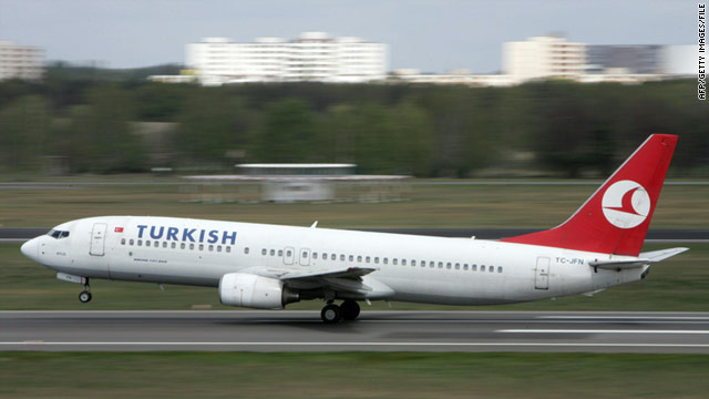A passenger on a Turkish Airlines flight from Oslo to Istanbul tried to hijack a plane similar to the one pictured.