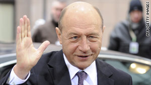 Romanian President Traian Basescu's government now requires witches, astrologers and others to pay income tax.