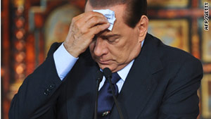 Two separate trials against Italian Prime Minister Silvio Berlusconi are pending, and a third is in the works.