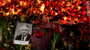 Polish President Lech Kaczynski, his wife and dozens of other were killed in the plane crash in April 2010.