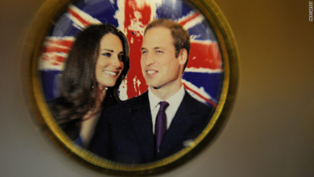 The 'real' Kate Middleton is set to marry Britain's Prince William in a ceremony at Westminster Abbey on April 29.
