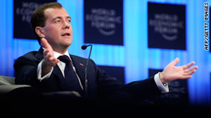 Russia trying to modernize says Medvedev