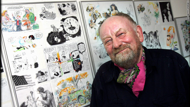 Westergaard received numerous death threats since his controversial drawing of the prophet Mohammed was published in 2005.