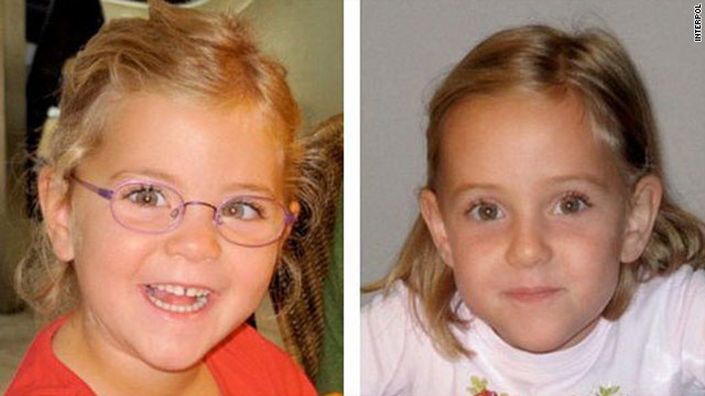 Police say 6 year-old Alessia and Livia Schepp were taken from their home near Lausanne in Switzerland on January 30.