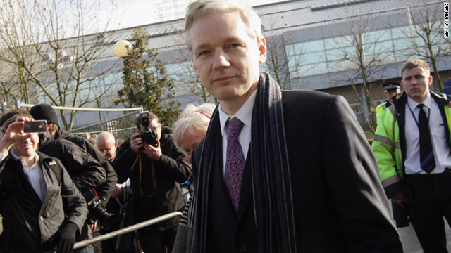A judge in Britain is expected to rule next week on whether Assange, an Australian, should be extradited to Sweden.