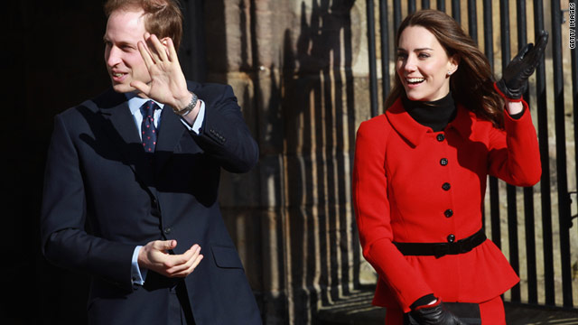 Kate Middleton and Prince William have returned to St. Andrews University as part of celebrations for its 600th anniversary.