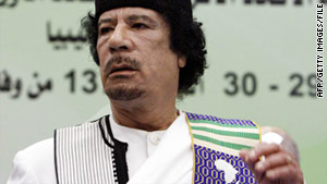 Britain has revoked the diplomatic immunity of Moammar Gadhafi and his family.