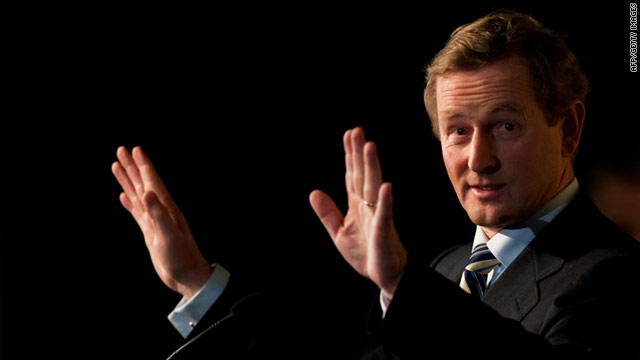 Enda Kenny's Fine Gael party will have to form a coalition in order to govern in Ireland.