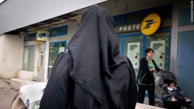 A survey in 2010 found that more than four out of five French people backed a ban on wearing the burqa in public places.