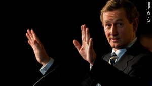 PM-designate Enda Kenny said during the election campaign he wanted to renegotiate the country's bailout package.