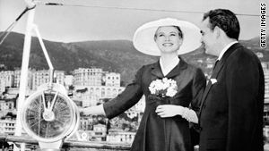 American actress Grace Kelly famously took her honeymoon aboard the royal yacht of her new husband, Prince Rainier of Monaco.