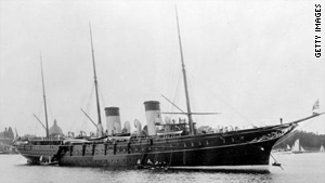 "The last in a long line of imperial yachts owned by the Russia czars, ""Standart"" was the biggest royal yacht in the world during the early 20th century."
