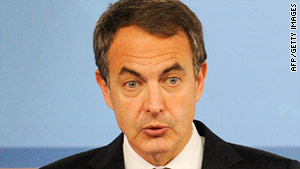 Jose Luis Rodriquez Zapatero has ordered a review of Spain's nuclear plants in light of the nuclear crisis in Japan.