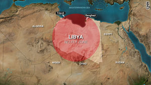A coalition of international forces is enforcing a no-fly zone over Libya.