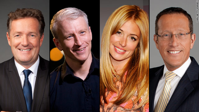 CNN's royal wedding coverage will be hosted by a stellar lineup including Piers Morgan, Anderson Cooper, Cat Deeley and Richard Quest.