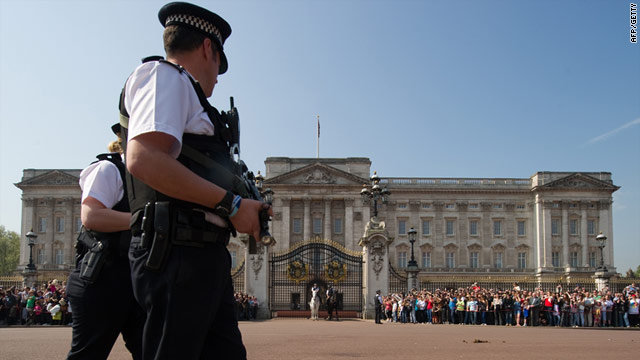 Buckingham Palace, April: The royal family are most vulnerable to attack from 'fixated' individuals say forensic psychiatrists.