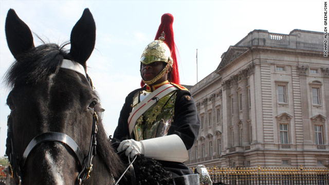 Trooper Denton John, the only American in the Household Cavalry, will be among the soldiers escorting Queen Elizabeth II.