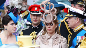 Royals and celebs don hats for wedding