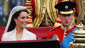 William and Catherine...husband and wife