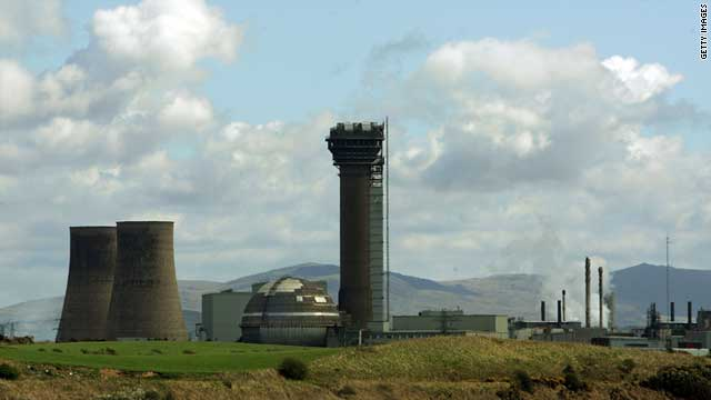 The arrests were made near the Sellafield nuclear facility in West Cumbria, here photographed in April 2007.