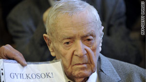 Sandor Kepiro, 97, has denied killing anyone during a raid in Novi Sad, Serbia, in 1942.