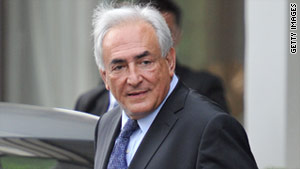 Dominique Strauss-Kahn became managing director of the International Monetary Fund in 2007.