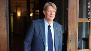 Latvia President Valdis Zatlers dissolved parliament Saturday.