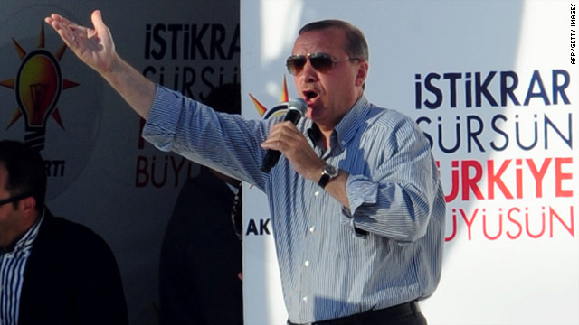 Turkish Prime Minister Recep Tayyip Erdogan accused The Economist of working on behalf of Israeli interests.