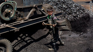 An estimated 115 million children worldwide work in hazardous jobs, says a U.N. agency.