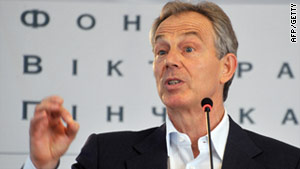 Leaked details of Tony Blair included his National Insurance number -- similar to a U.S. Social Security Number.