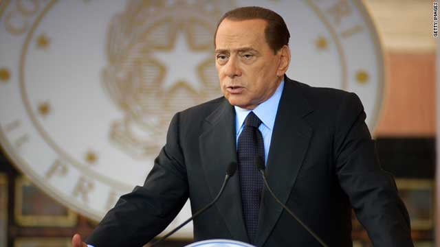 Italian premier Silvio Berlusconi has been fighting against declining approval ratings.