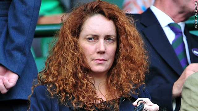 Rebekah Brooks, in a photo from July 1, resigned as editor of News of the World on Friday.