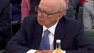"""Media baron Rupert Murdoch blamed """"the people I trusted and the people they trusted"""" during testimony Tuesday."""