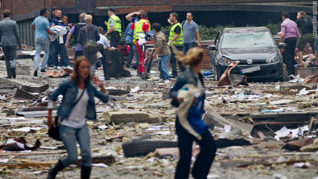 Survivors and relatives of victims of the 1995 Oklahoma City bombings have been shaken by events in Norway.