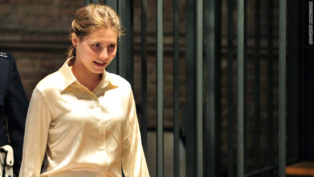 Amanda Knox, 24, was convicted and sentenced to 26 years in prison for the murder of a student in Italy.