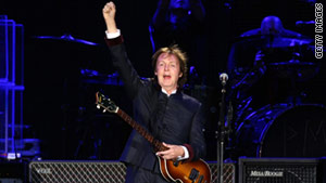 """Apparently, I have been hacked,"" musician Paul McCartney said Thursday."
