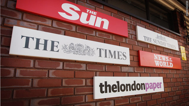 Police are investigating claims of phone hacking at the News of the World newspaper, which has since been closed.