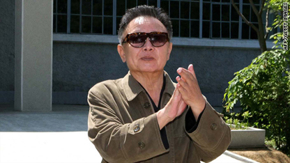 Kim Jong Il arrives in Russia