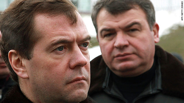 Russian Defense Minister Anatoly Serdyukov, right, pictured with President Dmitry Medvedev, has ordered an inquiry.