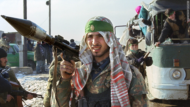 Rebels in Chechnya began fighting for independence in the 1990s, but the fight has become aimed more at imposing Islamist rule.