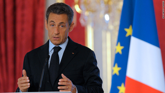 Nicolas Sarkozy pledged France would do everything legally possible to help the Syrian people achieve freedom and democracy.