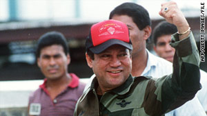Last year, a French court sentenced Manuel Noriega to seven years in prison for money laundering.