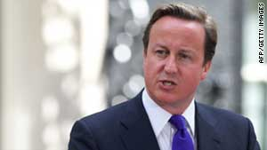 British Prime Minister David Cameron is visiting Moscow on a trade mission (file photo).